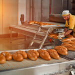 bread bakery food factory production with fresh products automated production of bakery products 1