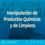 Caja Manipulacion de Productos Quimicos y de Limpieza