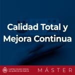 Caja Master Calidad Total y Mejora continuas
