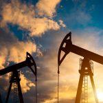 oil pump on sunset world oil industry