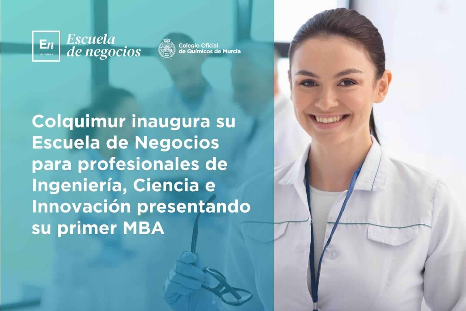 MBA en innovación y ciencia.